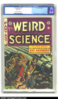 Golden Age (1938-1955):Science Fiction, Weird Science #17 (EC, 1953) CGC FN+ 6.5 Off-white to white pages.Kamen, Williamson, and Wood art. Overstreet 2002 FN 6.0 v...