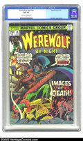 Bronze Age (1970-1979):Horror, Werewolf by Night #36 (Marvel, 1976) CGC NM 9.4 Off-white to whitepages. Highest graded copy on CGC's census! Beautiful, hi...