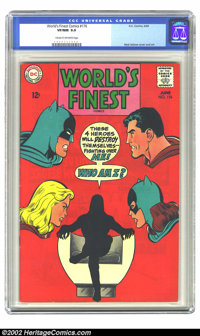 World's Finest Comics #176 (DC, 1968) CGC VF/NM 9.0 Cream to off-white pages. Overstreet 2002 NM 9.4 value = $42