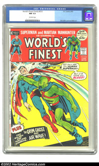 World's Finest Comics #212 (DC, 1972) CGC NM 9.4 Off-white pages. Overstreet 2002 NM 9.4 value = $22