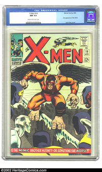 X-Men #19 (Marvel, 1966) CGC NM 9.4 Cream to off-white pages. First appearance of the Mimic; Jack Kirby cover. Overstree...