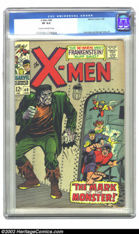 X-Men #40 (Marvel, 1968) CGC VF 8.0 Cream to off-white pages. Don Heck and George Tuska art. Overstreet 2002 VF 8.0 valu...