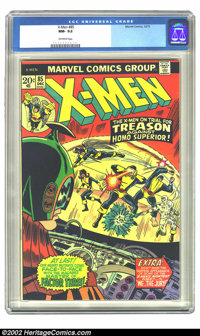 X-Men #85 (Marvel, 1973) CGC NM- 9.2 Off-white pages. Overstreet 2002 NM 9.4 value = $40