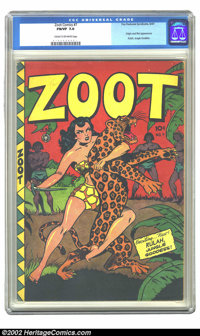 Zoot Comics #7 (Fox Features Syndicate, 1947) CGC FN/VF 7.0 Cream to off-white pages. Origin and first appearance Rulah...