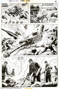 Original Comic Art:Panel Pages, Russ Heath - Original Art for Our Army At War #241 Story Page 13 (DC, 1972). Outstanding battle action from this terrific Sg...