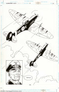 Original Comic Art:Splash Pages, Russ Heath - Original Art Splash Page for Enemy Ace: War in Heaven#2 (DC, 2001). Gorgeous splash displaying Heath's genius ...