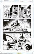 Original Comic Art:Panel Pages, Russ Heath - Original Art from Legends of the Dark Knight #47,pages 16 and 24(DC, 1993). Two action-packed pages from this ...
