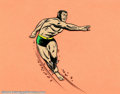 Original Comic Art:Miscellaneous, Original Animation Art of Prince Namor, the Sub-Mariner(Grantray-Lawrence, 1966). The Avenging Son, the Lord of Atlantis,t...