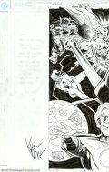 Original Comic Art:Covers, Kieron Dwyer and Karl Kesel - Original Cover Art for Superman: TheDark Side Trade Paperback (DC, 1998). Outstanding cover a...