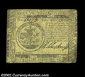 Colonial Notes:Continental Congress Issues, Continental Currency May 10, 1775 $5 Very Fine. A nice ...