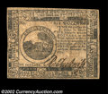 Colonial Notes:Continental Congress Issues, Continental Currency November 29, 1775 $6 Choice Very Fine....