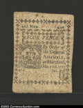 Colonial Notes:Connecticut, October 11, 1777, 4d, Connecticut, CT-216, CU. This is an ...