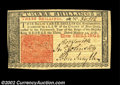 Colonial Notes:New Jersey, New Jersey March 25, 1776 3s Very Choice New. A decently ...