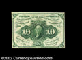 Fractional Currency:First Issue, Fr. 1242 10c First Issue Very Choice New. This pretty ...
