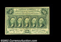 Fractional Currency:First Issue, Fr. 1312 50c First Issue Very Choice New. A near-Gem ...