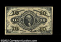 """Fractional Currency:Third Issue, Fr. 1251 10c Third Issue Very Choice New. This Red Back """"..."""