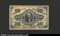 Fractional Currency:Third Issue, Third Issue 10c, Fr-1251, CU. A well embossed and well ...