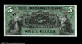 Canadian Currency: , Toronto, ON- The Dominion Bank $5 Jan. 1, 1896 Ch. 220-16-...