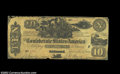 Confederate Notes:Group Lots, CT29 $10 1861. A high grade example of this collectible ...