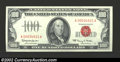 Small Size:Legal Tender Notes, 1966 $100 Legal Tender Note, Fr-1550, Gem CU. This is an ...