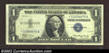 Small Size:Silver Certificates, 1935 $1 Silver Certificate, Fr-1607*, VF-XF. With the note ...
