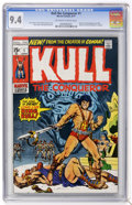 Bronze Age (1970-1979):Miscellaneous, Kull the Conqueror #1 (Marvel, 1971) CGC NM 9.4 Off-white to whitepages....