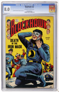 Golden Age (1938-1955):War, Blackhawk #72 (Quality, 1954) CGC VF 8.0 Off-white to whitepages....
