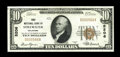 National Bank Notes:Oklahoma, Stillwater, OK - $10 1929 Ty. 1 The First NB Ch. # 5206. This lovely note is the only example from here, large or small,...