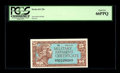 Military Payment Certificates:Series 611, Series 611 25¢ PCGS Gem New 66PPQ This note is nicely margined and quite colorful....