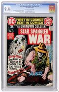 Bronze Age (1970-1979):War, Star Spangled War Stories #164 (DC, 1972) CGC NM 9.4 Off-white towhite pages....