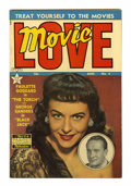 "Golden Age (1938-1955):Romance, Movie Love #4 Davis Crippen (""D"" Copy) pedigree (Famous Funnies,1950) Condition: VF/NM...."