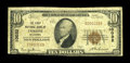National Bank Notes:Oklahoma, Tyrone, OK - $10 1929 Ty. 1 The First NB Ch. # 10032. A tougher note from a small town in the Oklahoma panhandle. Very...