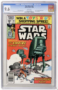 Modern Age (1980-Present):Science Fiction, Star Wars #40 (Marvel, 1980) CGC NM+ 9.6 White pages. ...