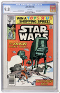 """Modern Age (1980-Present):Science Fiction, Star Wars #40 (Marvel, 1980) CGC NM/MT 9.8 WHite pages. Part two of""""Empire Strikes Back"""" movie adaptation. Al Williamson an..."""