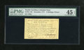 Colonial Notes:North Carolina, North Carolina December, 1771 2s/6d PMG Choice Extremely Fine 45 EPQ. This is the variety that has the duck vignette. The ot...