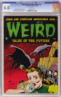 Golden Age (1938-1955):Horror, Weird Tales of the Future #4 (Aragon, 1952) CGC FN 6.0 Off-whitepages....