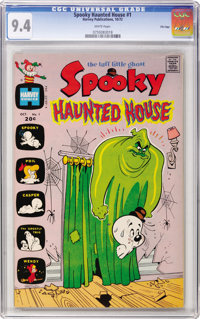 Spooky Haunted House #1 File Copy (Harvey, 1972) CGC NM 9.4 White pages