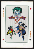 Original Comic Art:Miscellaneous, Bob Kane - Signed Limited Edition Joker Print, Artists' Proof(undated)....