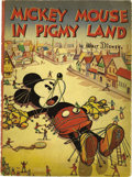 Books:General, Mickey Mouse in Pigmy Land (Whitman, 1936) Condition: GD....