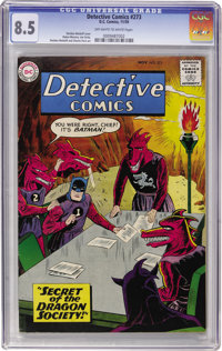 Detective Comics #273 (DC, 1959) CGC VF+ 8.5 Off-white to white pages