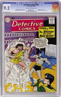 Detective Comics #285 (DC, 1960) CGC NM- 9.2 Off-white to white pages
