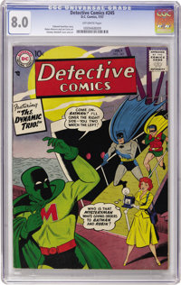Detective Comics #245 (DC, 1957) CGC VF 8.0 Off-white pages