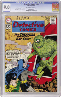 Detective Comics #291 (DC, 1961) CGC VF/NM 9.0 Off-white to white pages