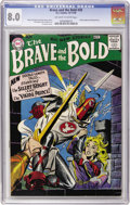 Silver Age (1956-1969):Adventure, The Brave and the Bold #20 (DC, 1958) CGC VF 8.0 Off-white to white pages....