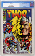 Silver Age (1956-1969):Superhero, Thor #158 (Marvel, 1968) CGC NM 9.4 Off-white to white pages....