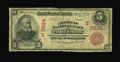 Fort Smith, AR - $5 1902 Red Seal Fr. 589 The American NB Ch. # (S)3634 While quite well circulated and certainly well...