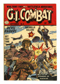 "Golden Age (1938-1955):War, G.I. Combat #9 Davis Crippen (""D"" Copy) pedigree (Quality, 1953)Condition: FN/VF...."