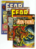 Bronze Age (1970-1979):Horror, Fear Group (Marvel, 1972-73) Condition: Average VF/NM.... (Total:5)