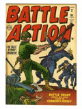 "Golden Age (1938-1955):War, Battle Action #6 Davis Crippen (""D"" Copy) pedigree (Atlas, 1952)Condition: VF-...."