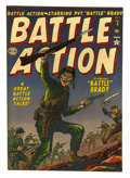 "Golden Age (1938-1955):War, Battle Action #5 Davis Crippen (""D"" Copy) pedigree (Atlas, 1952) Condition: VF...."